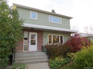 Photo 1: 639 Beaverbrook Street in WINNIPEG: River Heights / Tuxedo / Linden Woods Residential for sale (South Winnipeg)  : MLS®# 1425626