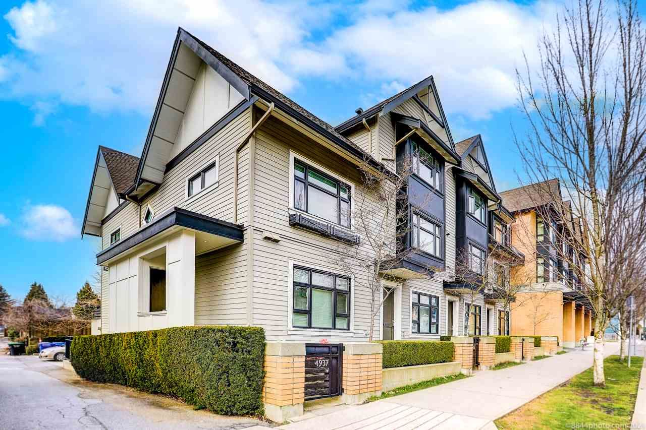 "Main Photo: 4937 MACKENZIE Street in Vancouver: MacKenzie Heights Townhouse for sale in ""Mackenzie Green"" (Vancouver West)  : MLS®# R2542299"
