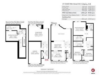 Photo 27: 7 10401 19 Street SW in Calgary: Braeside Row/Townhouse for sale : MLS®# A1106437