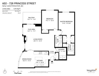 """Photo 2: 602 728 PRINCESS Street in New Westminster: Uptown NW Condo for sale in """"728 Princess"""" : MLS®# R2582857"""