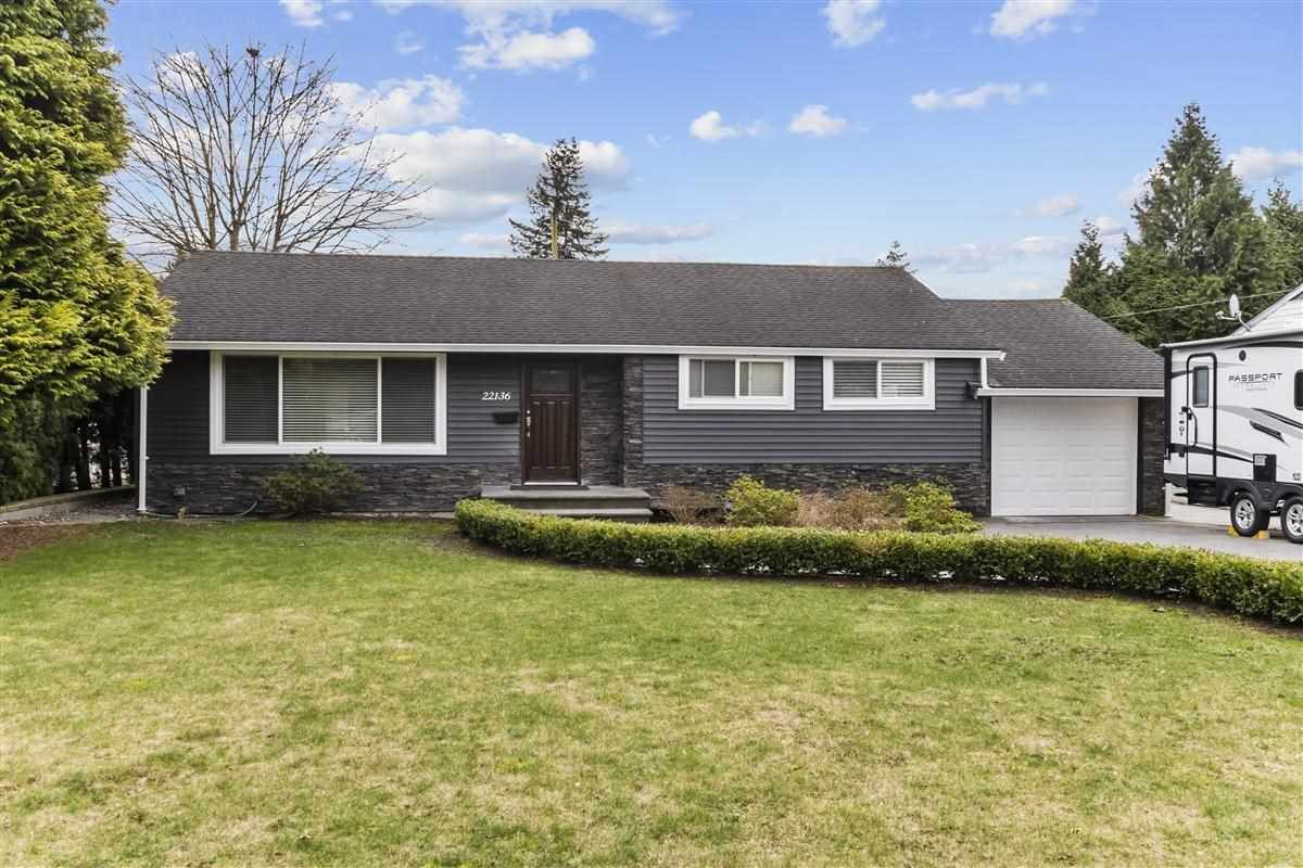 Main Photo: 22136 SELKIRK Avenue in Maple Ridge: West Central House for sale : MLS®# R2537357