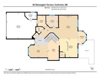Photo 33: 26 Gleneagles Terrace: Cochrane Detached for sale : MLS®# A1130075