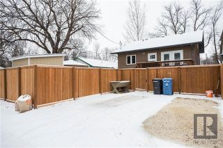 Photo 20: 153 Blenheim Avenue in Winnipeg: Residential for sale (2D)  : MLS®# 1829676
