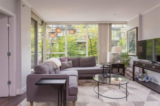 "Photo 2: 113 1483 W 7TH Avenue in Vancouver: Fairview VW Condo for sale in ""Verona of Portico"" (Vancouver West)  : MLS®# R2458283"