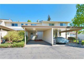 Photo 1: 1250 Morgan Road # 9 in Kelowna: House for sale : MLS®# 10081747