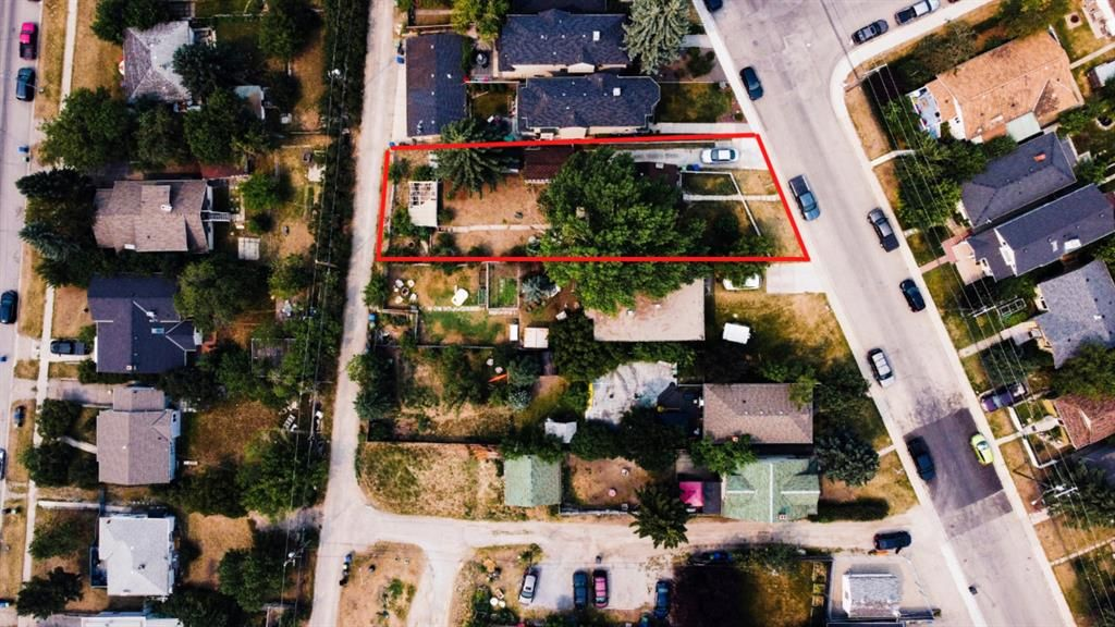 –Zoned R-C2 -54.46 x 166 (at the deepest point) -Double Lot with a South / West facing backyard