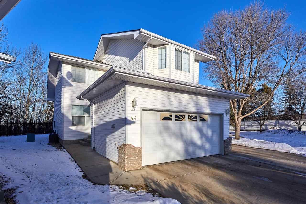 Main Photo: 44 3 POIRIER Avenue: St. Albert House Half Duplex for sale : MLS®# E4223810