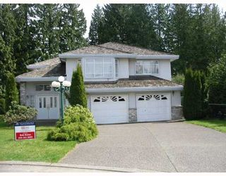 """Photo 1: 1408 BRISBANE Avenue in Coquitlam: Harbour Chines House for sale in """"HARBOUR CHINES"""" : MLS®# V761265"""
