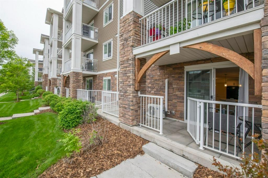 Main Photo: 110 102 Cranberry Park SE in Calgary: Cranston Apartment for sale : MLS®# A1119069