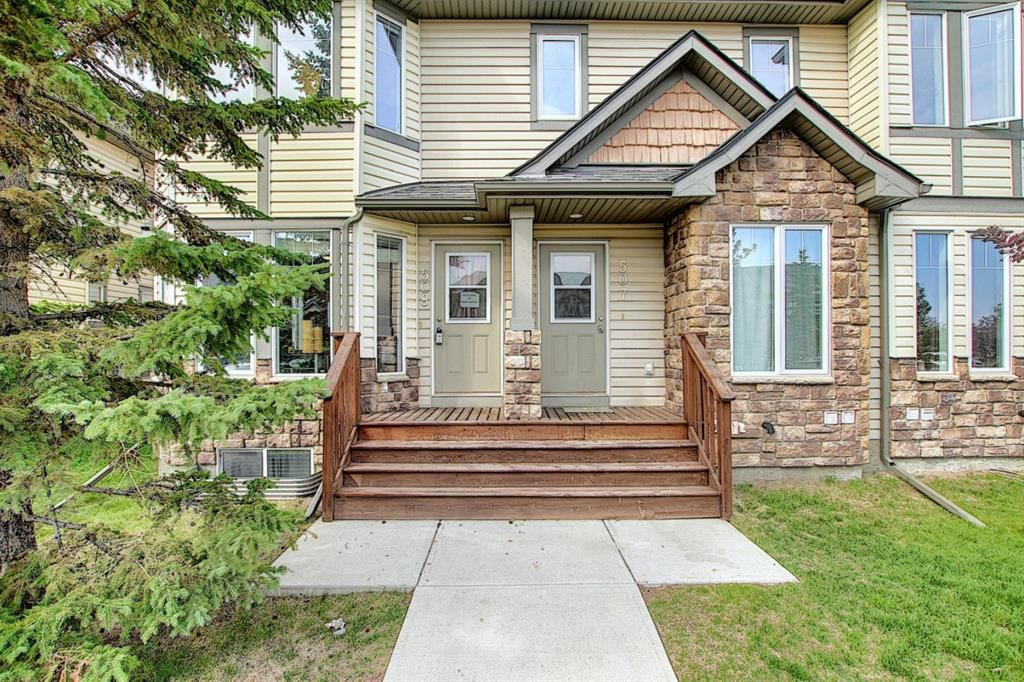 Main Photo: 508 2445 Kingsland Road SE: Airdrie Row/Townhouse for sale : MLS®# A1129746