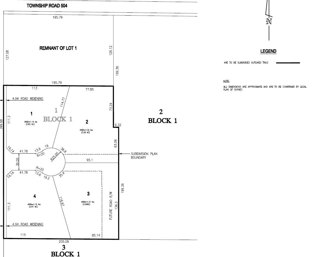 Main Photo: 40 50367 RR 222: Rural Leduc County Rural Land/Vacant Lot for sale : MLS®# E4220000