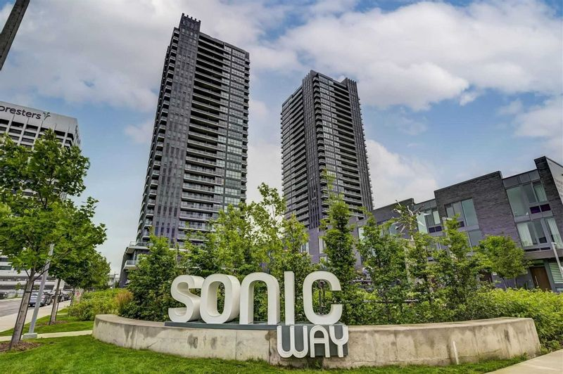 FEATURED LISTING: N2805 - 6 Sonic Way Toronto