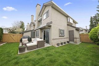 "Photo 1: 18 12438 BRUNSWICK Place in Richmond: Steveston South Townhouse for sale in ""BRUNSWICK GARDENS"" : MLS®# R2560478"
