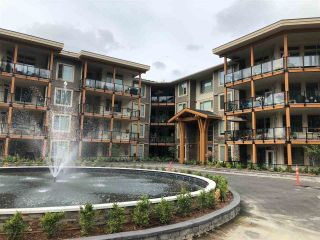 "Photo 1: 308 45754 KEITH WILSON Road in Chilliwack: Vedder S Watson-Promontory Condo for sale in ""ENGLEWOOD COURTYARD"" (Sardis)  : MLS®# R2396148"