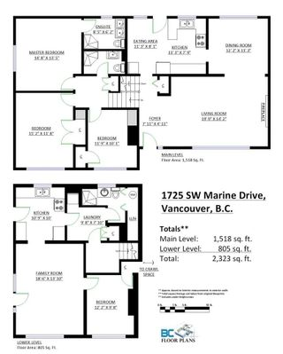 Photo 3: 1725 SW MARINE Drive in Vancouver: S.W. Marine House for sale (Vancouver West)  : MLS®# R2221298