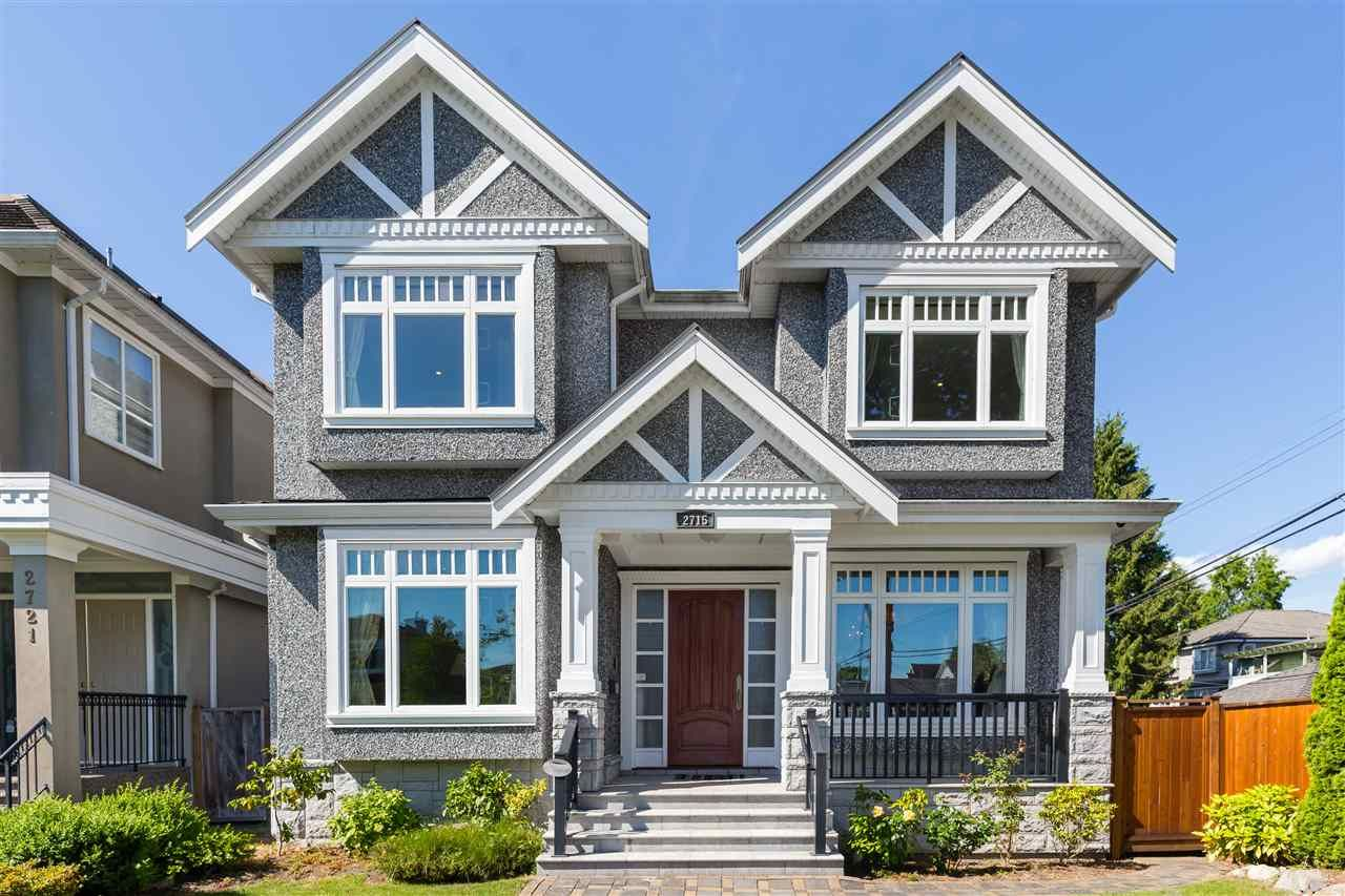 Main Photo: 2715 W 20TH Avenue in Vancouver: Arbutus House for sale (Vancouver West)  : MLS®# R2373676