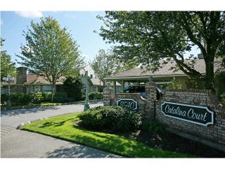 """Photo 1: 12 8540 BLUNDELL Road in Richmond: Garden City Townhouse for sale in """"CATALINA COURT"""" : MLS®# V853733"""