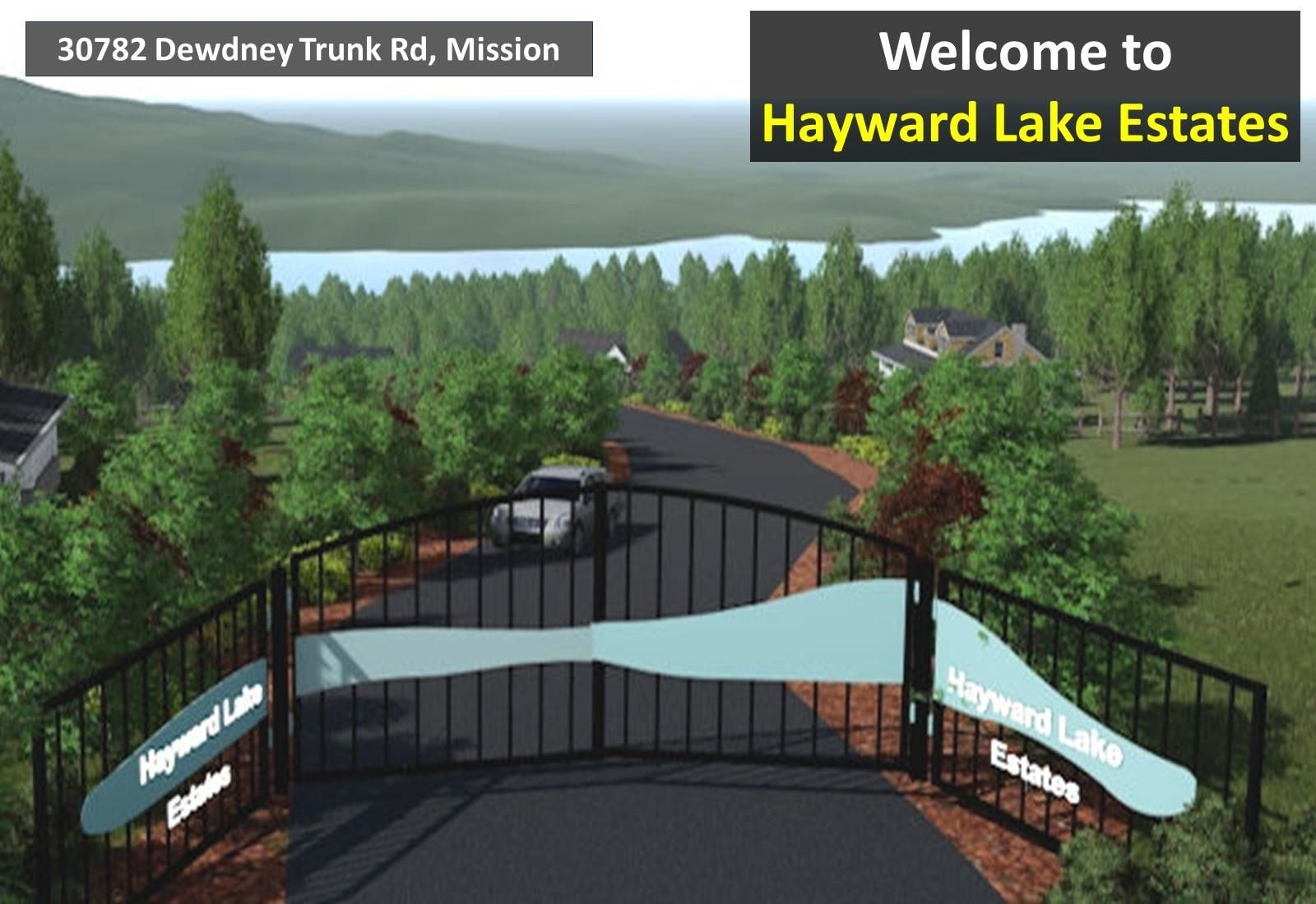 """Photo 2: Photos: 30782 DEWDNEY TRUNK Road in Mission: Stave Falls Land for sale in """"HAYWARD LAKE ESTATES INC."""" : MLS®# R2607109"""