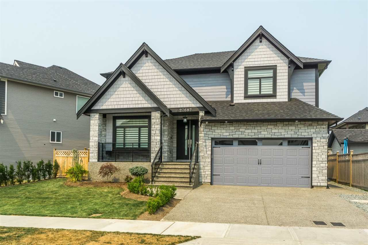 """Main Photo: 27687 RAILCAR Crescent in Abbotsford: Aberdeen House for sale in """"Station Woods"""" : MLS®# R2214452"""