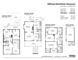 """Photo 40: 858 E 32ND Avenue in Vancouver: Fraser VE House for sale in """"Fraser"""" (Vancouver East)  : MLS®# R2574823"""