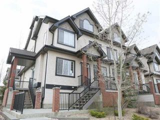 Photo 1: 28 4821 TERWILLEGAR Common in Edmonton: Zone 14 Townhouse for sale : MLS®# E4242080