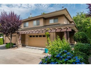 """Photo 1: 20 16655 64 Avenue in Surrey: Cloverdale BC Townhouse for sale in """"Ridgewoods"""" (Cloverdale)  : MLS®# R2482144"""
