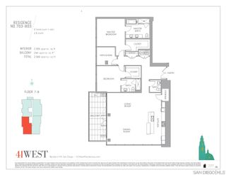Photo 36: DOWNTOWN Condo for sale : 3 bedrooms : 2604 5th Ave #703 in San Diego