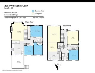 """Photo 20: 2283 WILLOUGHBY Court in Langley: Willoughby Heights House for sale in """"LANGLEY MEADOWS"""" : MLS®# R2555362"""