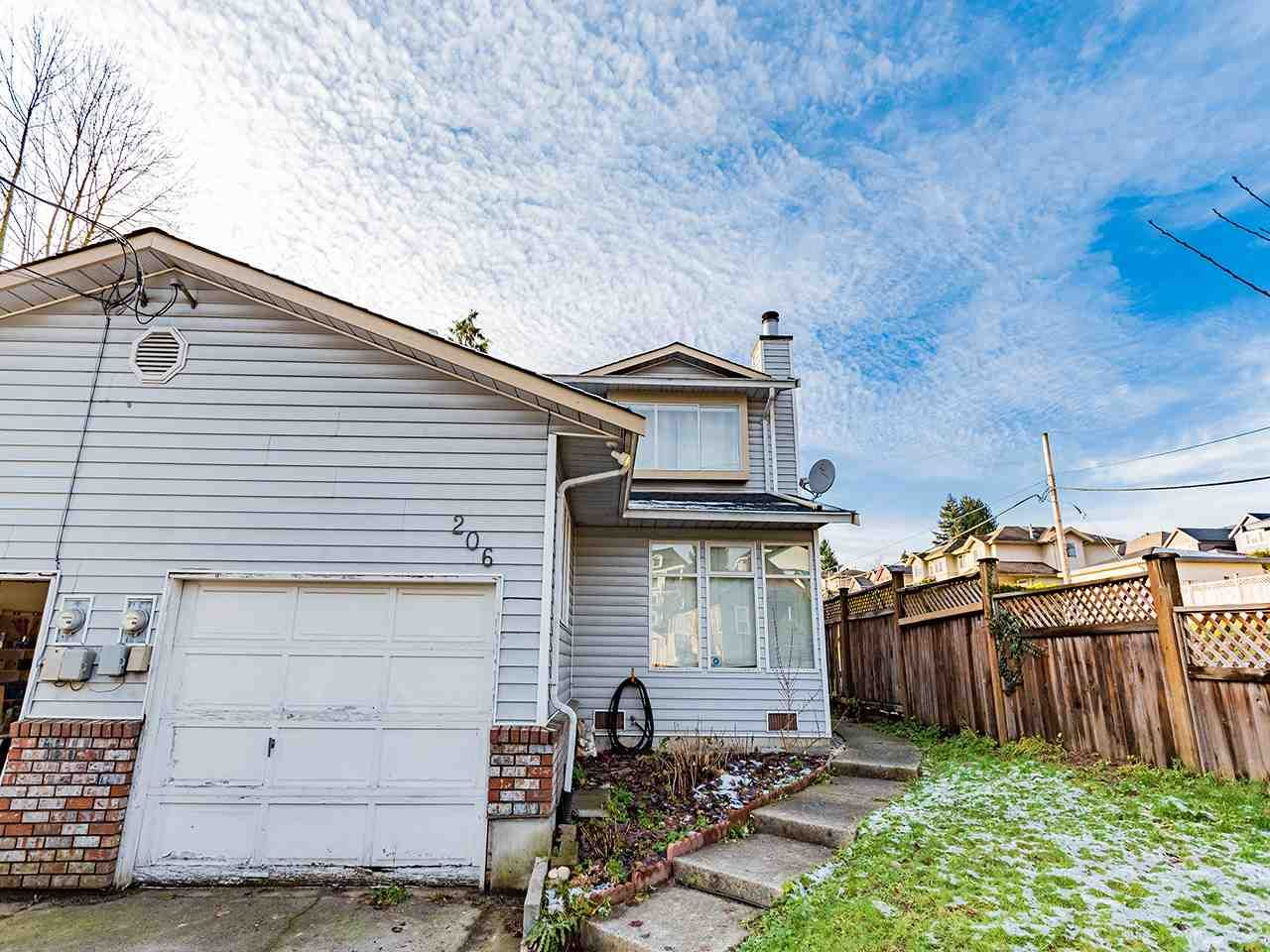 Main Photo: 206 ALLARD Street in Coquitlam: Maillardville 1/2 Duplex for sale : MLS®# R2542556
