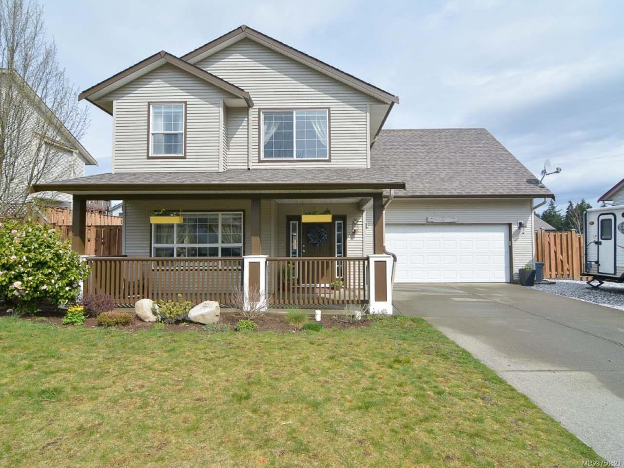 Main Photo: 1216 GARDENER Way in COMOX: CV Comox (Town of) House for sale (Comox Valley)  : MLS®# 756523