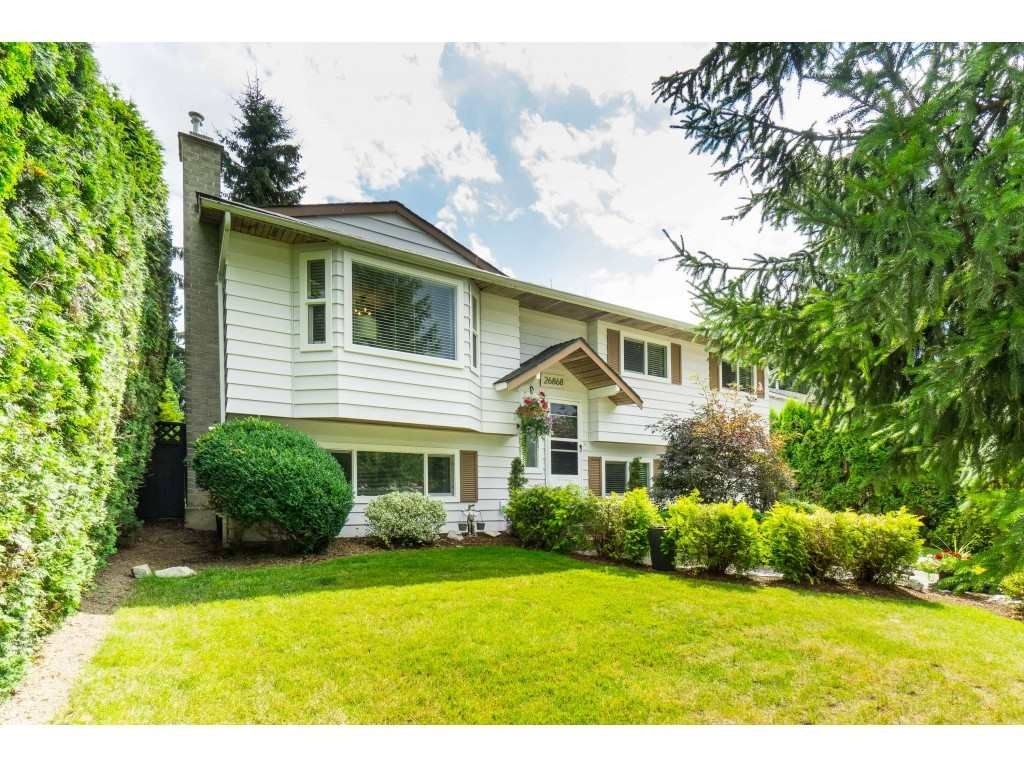 Main Photo: 26868 33 Avenue in Langley: Aldergrove Langley House for sale : MLS®# R2479885