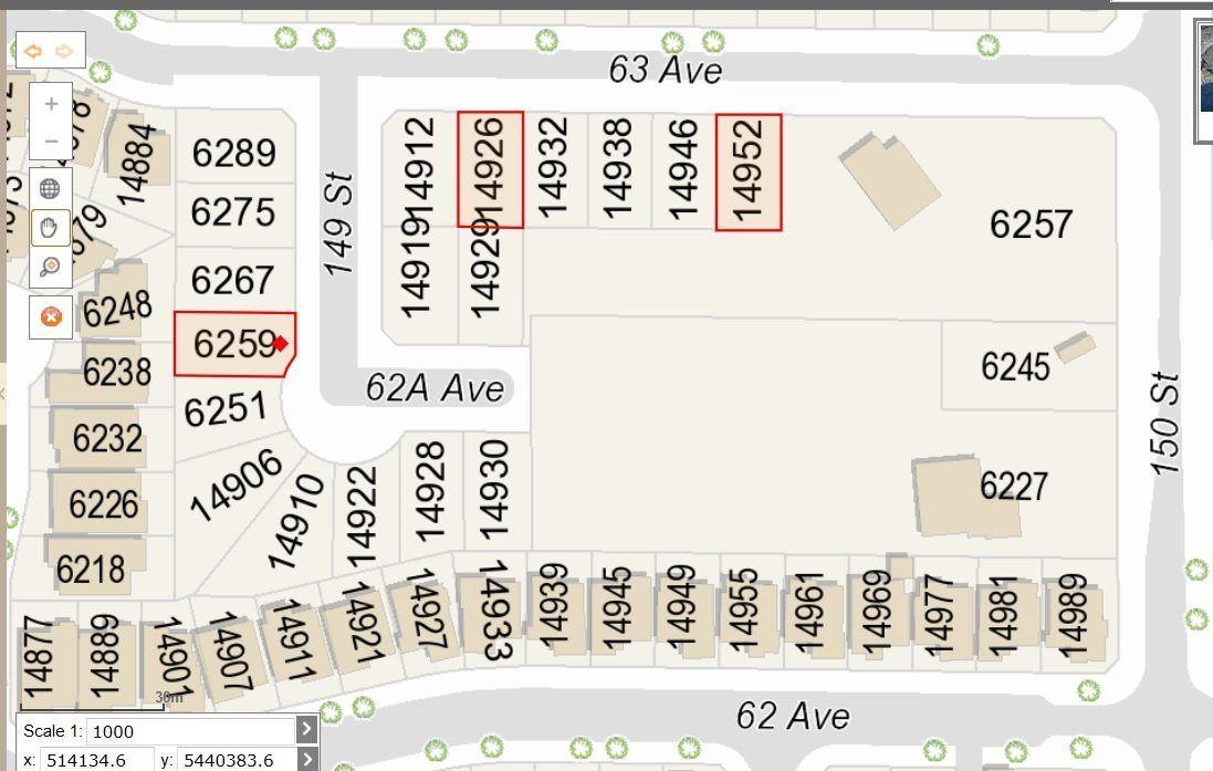Main Photo: 6259 149 Street in Surrey: Sullivan Station Land for sale : MLS®# R2221463