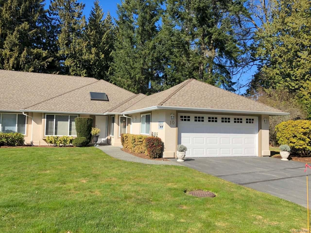 Main Photo: 10 850 ARBUTUS STREET in QUALICUM BEACH: PQ Qualicum Beach Row/Townhouse for sale (Parksville/Qualicum)  : MLS®# 781066