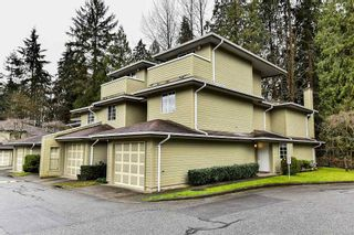 """Photo 1: 107 1386 LINCOLN Drive in Port Coquitlam: Oxford Heights Townhouse for sale in """"MOUNTAINS PARK VILLAGE"""" : MLS®# R2147747"""