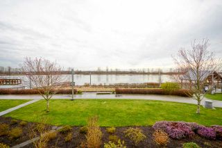 """Photo 1: 219 4500 WESTWATER Drive in Richmond: Steveston South Condo for sale in """"COPPER SKY WEST"""" : MLS®# R2149149"""