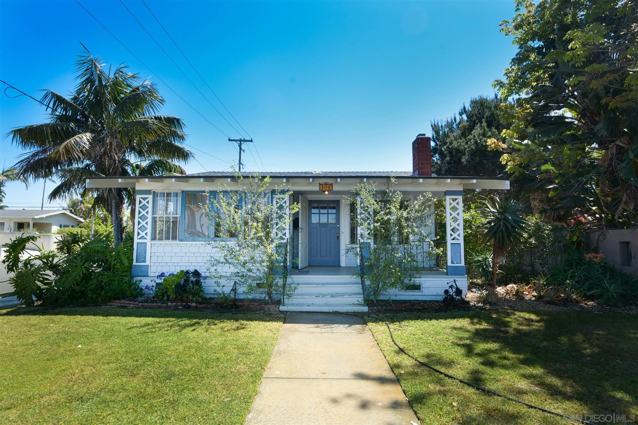 Main Photo: NORTH PARK House for sale : 2 bedrooms : 3443 Louisiana St in San Diego