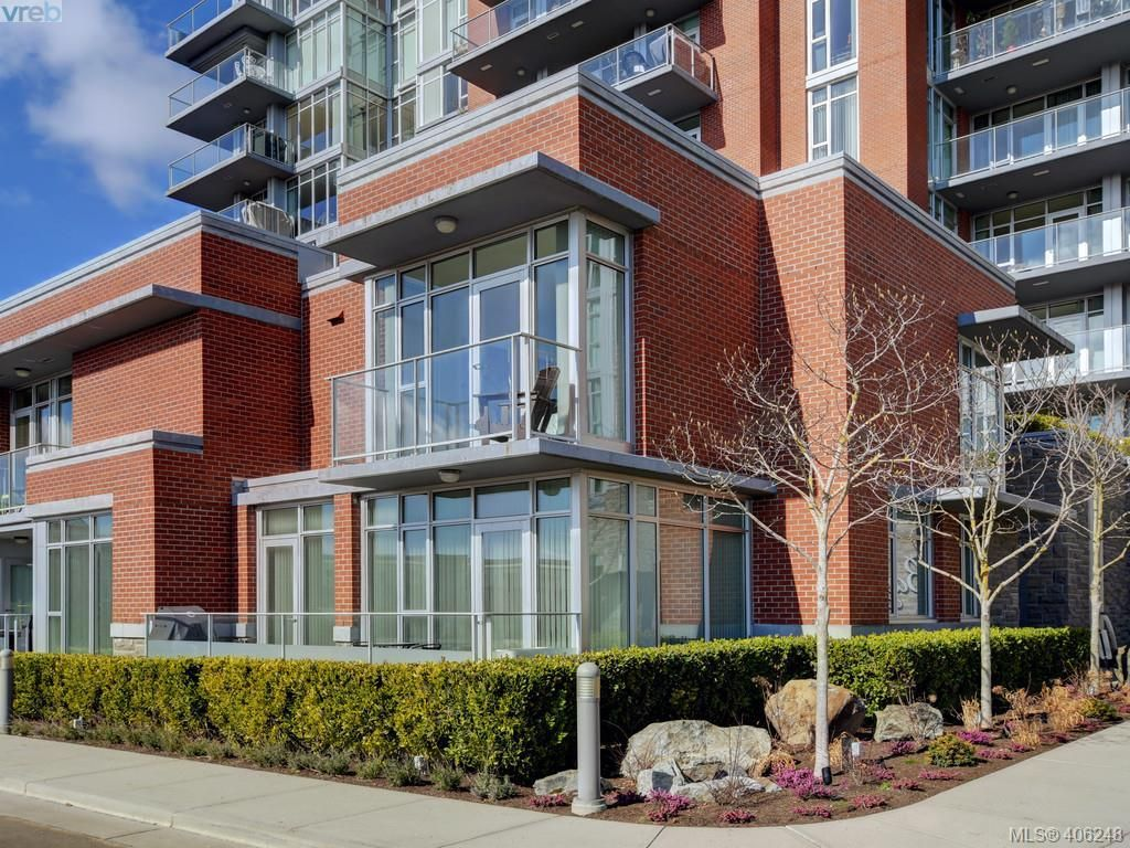 Photo 1: Photos: TH3 100 Saghalie Rd in VICTORIA: VW Songhees Row/Townhouse for sale (Victoria West)  : MLS®# 807394