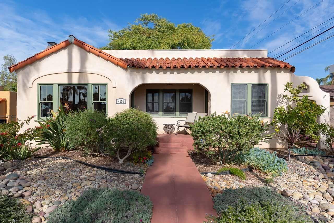 Main Photo: KENSINGTON House for sale : 3 bedrooms : 4124 Norfolk Terrace in San Diego