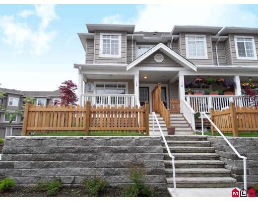 """Main Photo: 15 6852 193RD Street in Surrey: Clayton Townhouse for sale in """"Indigo"""" (Cloverdale)  : MLS®# F2817479"""