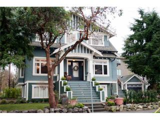 """Photo 1: 900 W 15TH Avenue in Vancouver: Fairview VW House for sale in """"FABULOUS FAIRVIEW"""" (Vancouver West)  : MLS®# V909662"""