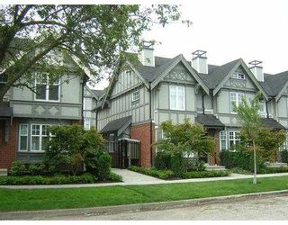 """Photo 1: 5601 WILLOW Street in Vancouver: Cambie Townhouse for sale in """"WILLOW"""" (Vancouver West)  : MLS®# V655470"""