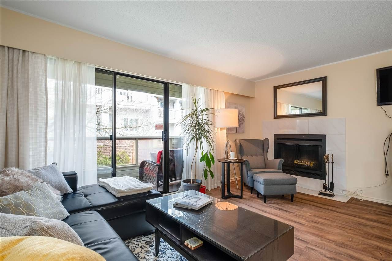 """Main Photo: 206 225 MOWAT Street in New Westminster: Uptown NW Condo for sale in """"The Windsor"""" : MLS®# R2557615"""