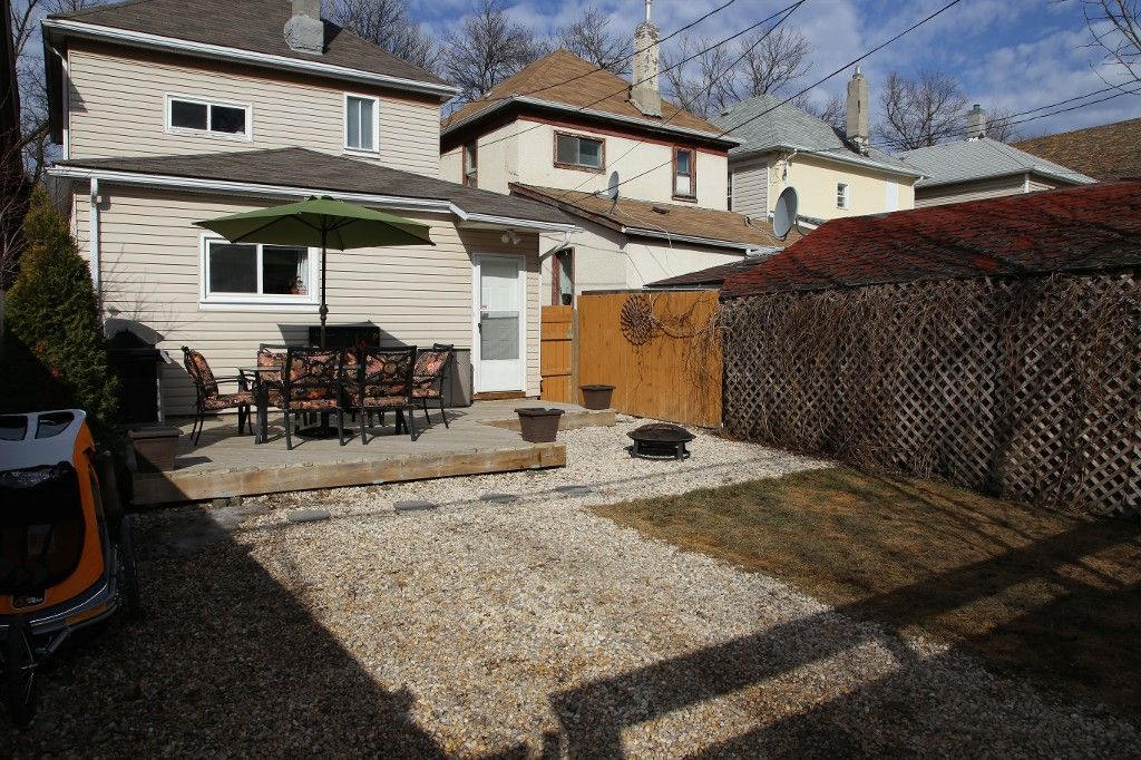 Photo 33: Photos: 375 Toronto Street in WINNIPEG: West End Single Family Detached for sale (West Winnipeg)  : MLS®# 1508111