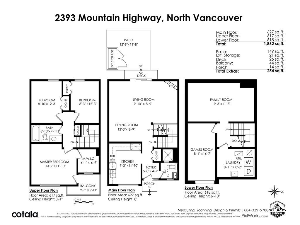 "Photo 40: Photos: 2393 MOUNTAIN Highway in North Vancouver: Lynn Valley Townhouse for sale in ""WORKWOOD PARK"" : MLS®# R2532253"