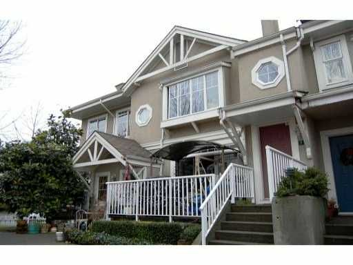 """Main Photo: 6 2422 HAWTHORNE Avenue in Port Coquitlam: Central Pt Coquitlam Townhouse for sale in """"HAWTHORNE GATE"""" : MLS®# V861373"""