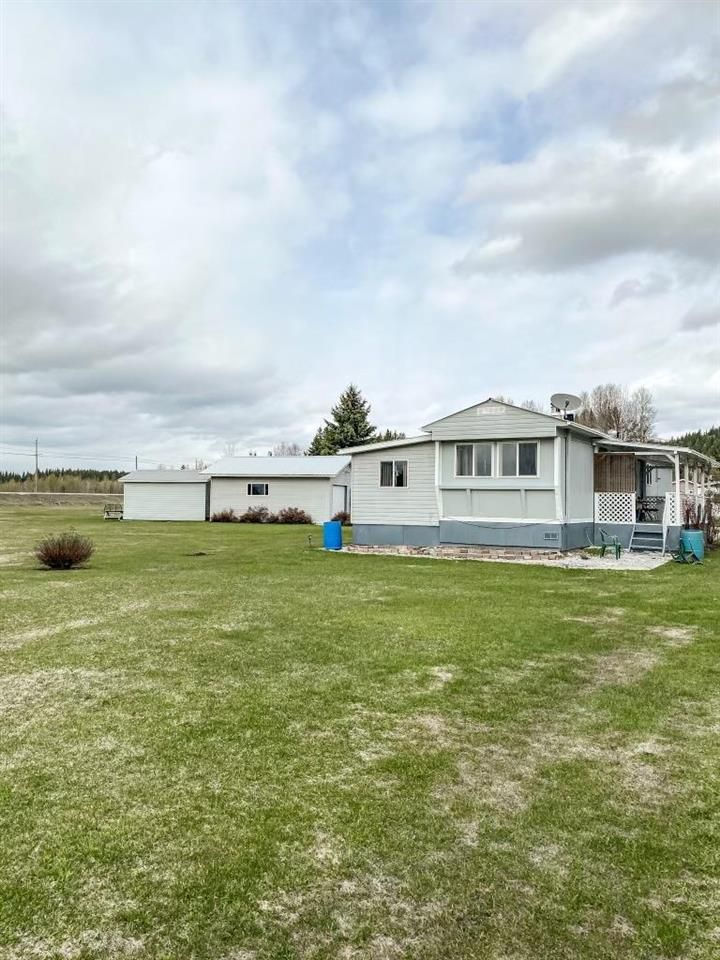 Main Photo: 32755 GRANT Road in Prince George: Red Rock/Stoner Manufactured Home for sale (PG Rural South (Zone 78))  : MLS®# R2575455