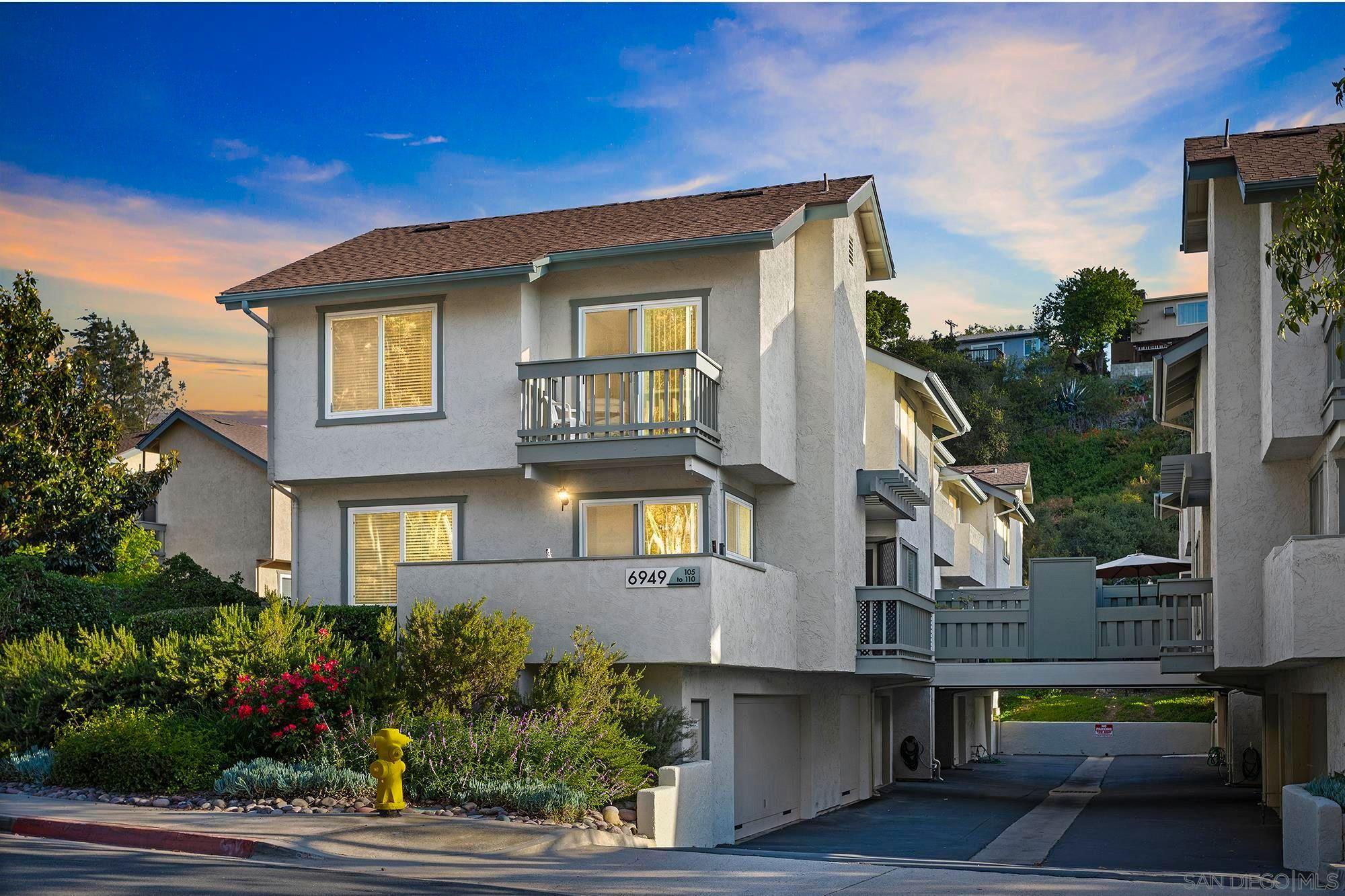 Main Photo: SAN DIEGO Condo for sale : 1 bedrooms : 6949 Park Mesa Way, Unit 109