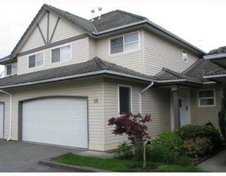 "Photo 1: 56 758 RIVERSIDE Drive in Port_Coquitlam: Riverwood Townhouse for sale in ""RIVERLANE ESTATES"" (Port Coquitlam)  : MLS®# V765260"