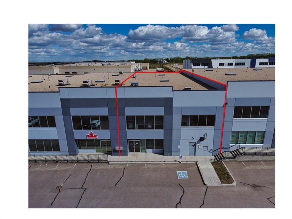 Main Photo: 117 18 Highland Park Way NE: Airdrie Industrial for sale : MLS®# A1129017