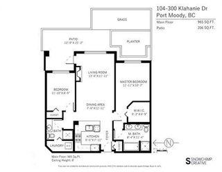 "Photo 20: 104 300 KLAHANIE Drive in Port Moody: Port Moody Centre Condo for sale in ""KLAHANIE"" : MLS®# R2237341"